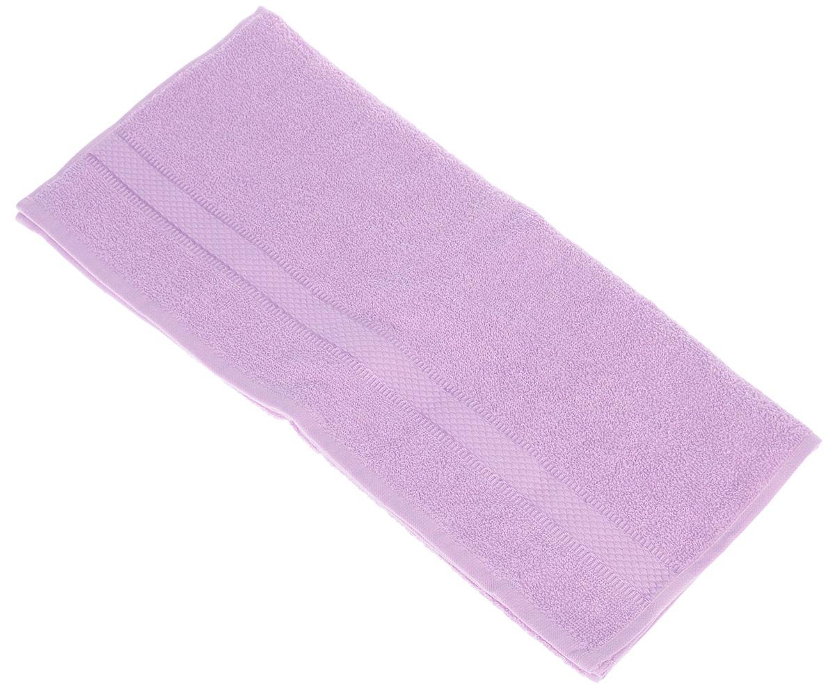 Полотенце Brielle Basic, цвет: лиловый, 50 х 85 см1209Полотенца ТАС Приятно удивляют и дают возможность почувствовать себя творцом окружающего декора. Махровая ткань – официальное название «фроте», народное – «махра». Фроте – это натуральная ткань, поверхность которой состоит из ворса (петель основных нитей). Ворс может быть как одинарным (односторонним), так и двойным (двусторонним).