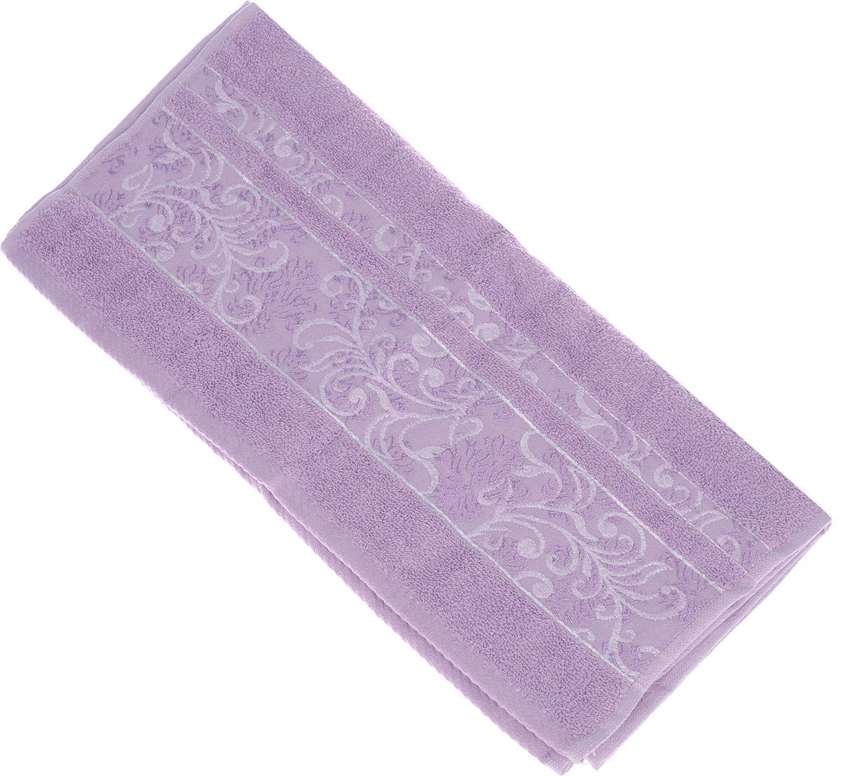 Полотенце Brielle Sarmasik Royal, цвет: пурпурный, 50 см х 90 см1205Полотенце Brielle Sarmasik Royal выполнено из бамбука с содержанием хлопка. Изделие очень мягкое, оно отлично впитывает влагу, быстро сохнет, сохраняет яркость цвета и не теряет формы даже после многократных стирок. Модель оформлена узорным рисунком и надписью. Полотенце Brielle Sarmasik Royal очень практично и неприхотливо в уходе. Такое полотенце послужит приятным подарком.