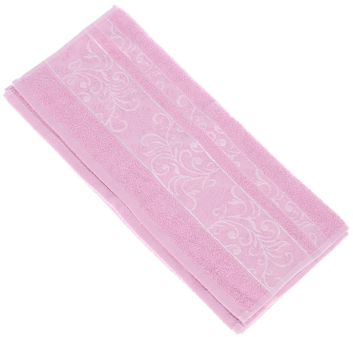 Полотенце Brielle Sarmasik Royal, цвет: розовый, 50 см х 90 см1205Полотенце Brielle Sarmasik Royal выполнено из бамбука с содержанием хлопка. Изделие очень мягкое, оно отлично впитывает влагу, быстро сохнет, сохраняет яркость цвета и не теряет формы даже после многократных стирок. Модель оформлена узорным рисунком и надписью. Полотенце Brielle Sarmasik Royal очень практично и неприхотливо в уходе. Такое полотенце послужит приятным подарком.