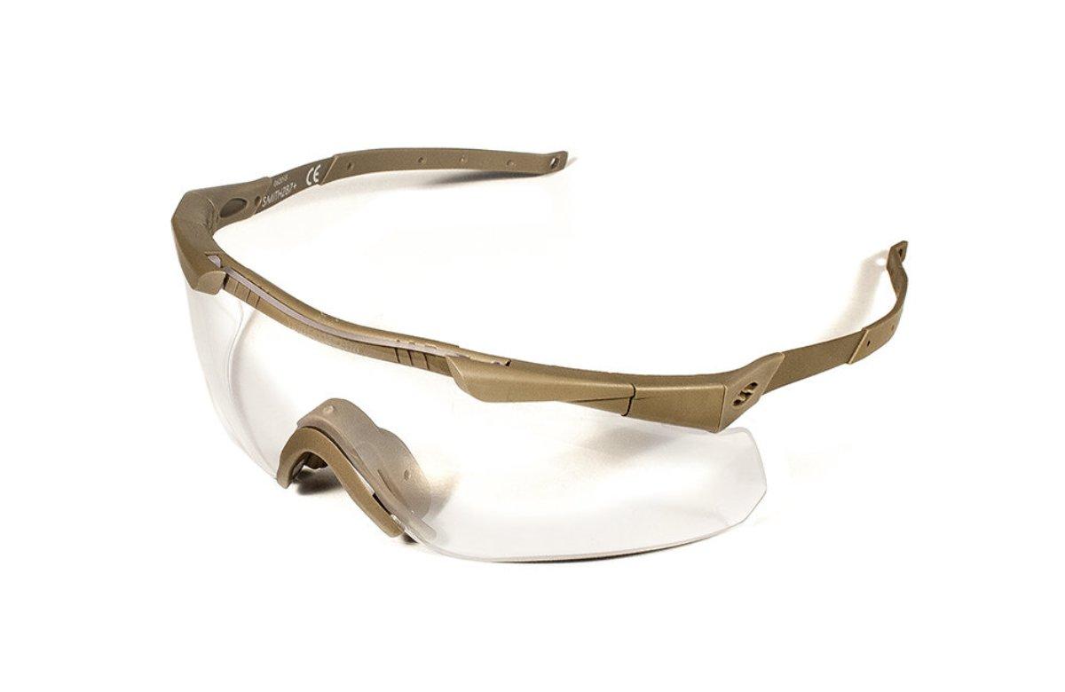 Защитные баллистические очки Smith Optics Aegis Echo II, цвет: бежевыйAECHAT49915-2R