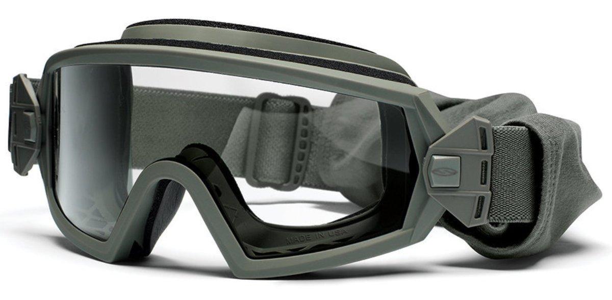 Защитные баллистические очки Smith Optics Outside The Wire, цвет: зеленыйOTW01FG12-2R