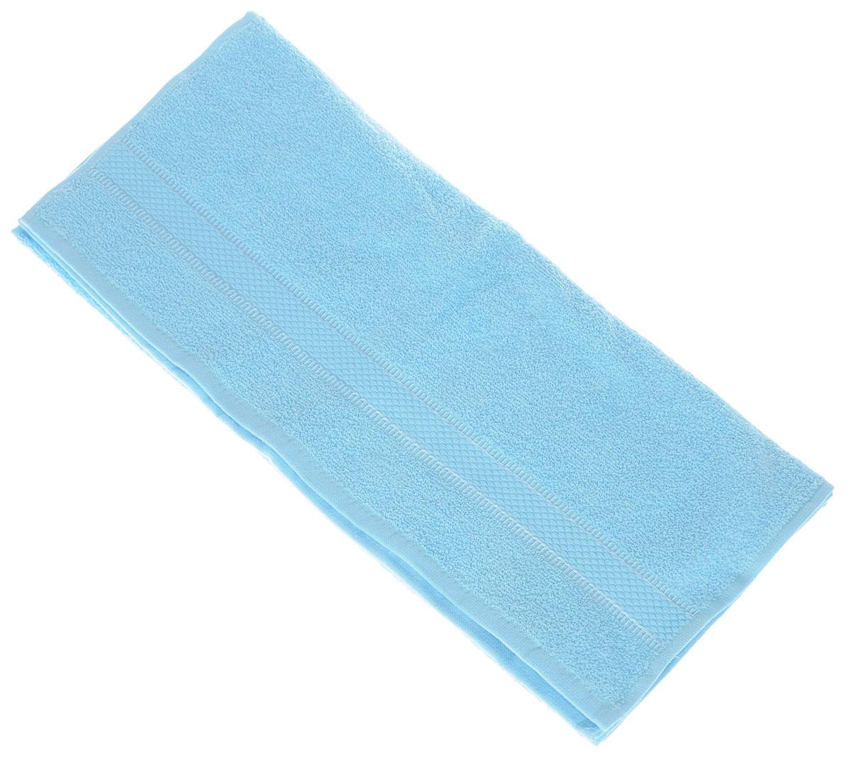 Полотенце Brielle Basic, цвет: бирюзовый, 50 х 85 см1209Полотенца ТАС Приятно удивляют и дают возможность почувствовать себя творцом окружающего декора. Махровая ткань – официальное название «фроте», народное – «махра». Фроте – это натуральная ткань, поверхность которой состоит из ворса (петель основных нитей). Ворс может быть как одинарным (односторонним), так и двойным (двусторонним).