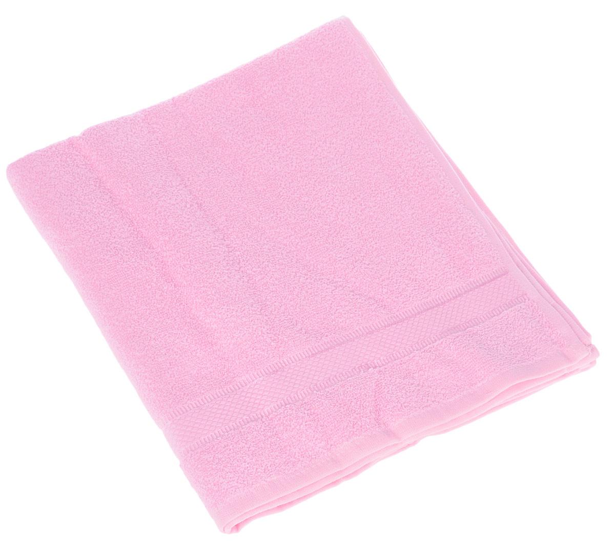 Полотенце Brielle Basic, цвет: розовый, 70 х 140 см1210Полотенца Brielle приятно удивляют и дают возможность почувствовать себя творцом окружающего декора.