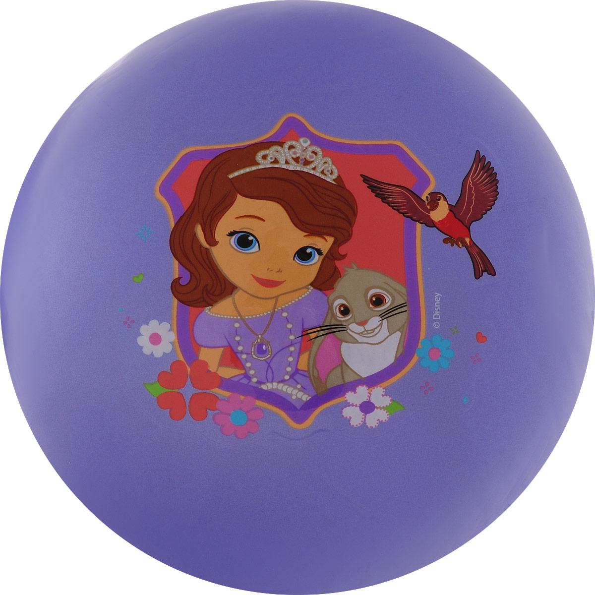 Играем вместе Мяч София Прекрасная цвет сиреневый 23 см