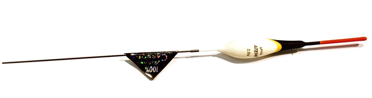 Поплавок Atemi Forza, 2,0 г. 405-10420405-10420Поплавок Atemi Forza 2 г для ловли на течении. Бренд: Атеми Вес огрузки : 2 г Кол-во : 1 шт Серия : Atemi Forza Материал : Бальса Страна производителя : Болгария/Польша