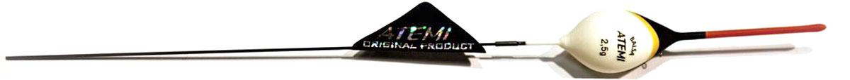Поплавок Atemi Bello, 2,5г. 407-00043407-00043Поплавок для ловли в спокойной воде Atemi Bello. Характеристики Поплавок Атеми Bello 2,5 г Бренд: Атеми Вес огрузки : 2,5 г Кол-во : 2,5 шт Серия : Атеми Bello Материал : Бальса Страна производителя : Болгария/Польша