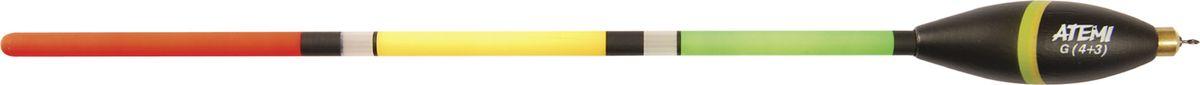 Поплавок отгуженный Atemi, 4+3 г. 408-74043408-74043Atemi WAGGLER - специальная серия поплавков предназначена для ловли с дальним забросом, для ночной ловли со светлячком и для ловли на живца. Характеристики Поплавок Atemi WAGGLER отгруженный 4+3 гр Бренд: Атеми Кол-во : 1 шт Серия : Atemi WAGGLER Материал : Бальса Страна производителя : Болгария/Польша Вес огрузки : 3 г, 4 г