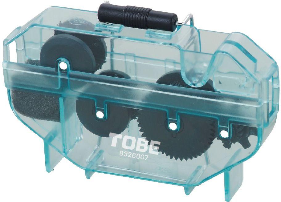 Машинка для очистки цепи To Be. 20902090Для очистки цепи B326007 Особенности: 4-сторонние щетки; Простая очистка цепи; Можно использовать с цитрусовым обезжиривателем