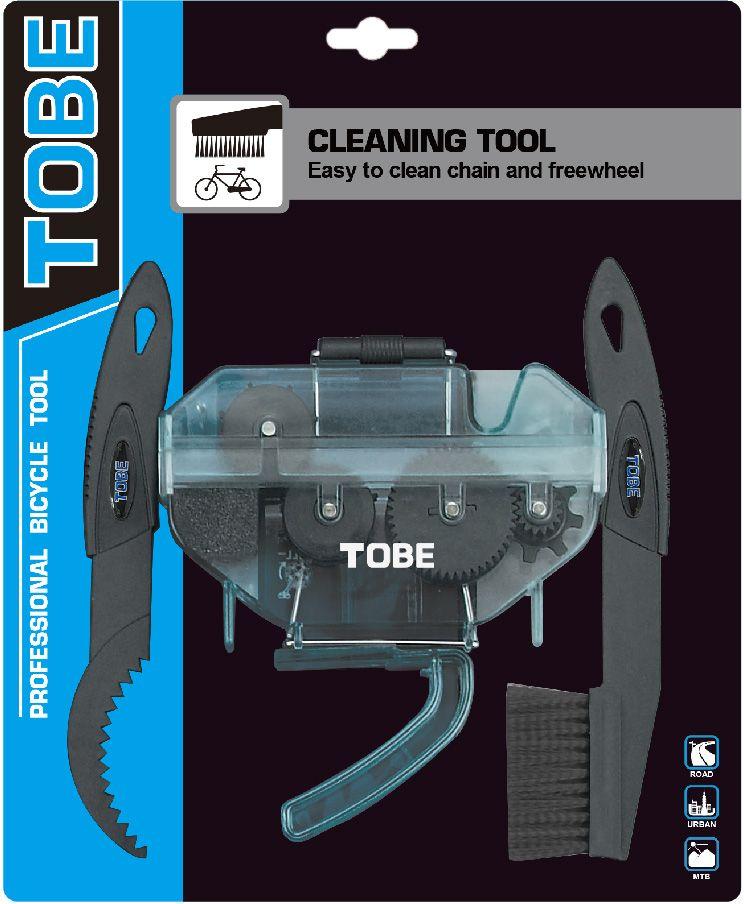 Набор для очистки велосипеда To Be. 20912091Для очистки B3260700 Особенности: Простая очистка цепи; Можно использовать с цитрусовым обезжиривателем