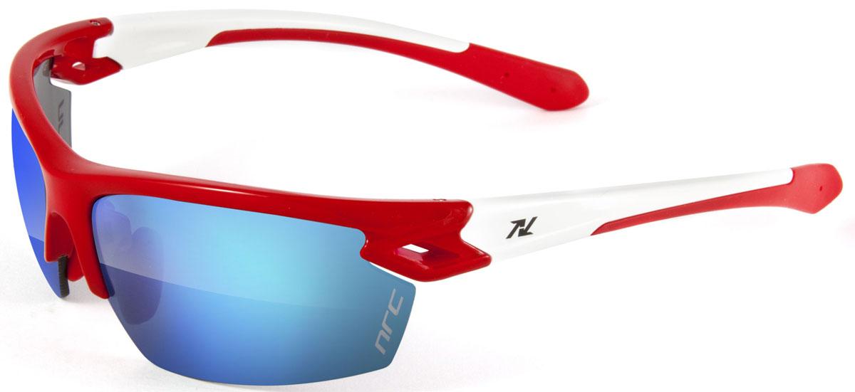 Очки солнцезащитные NRC, цвет: Красный. 2101721017Бренд NRC представляет очки, предназначенные как для езды на велосипеде, так и для многих других видов спорта. NRC известен собственными фирменными разработками, адаптирующими очки под разные климатические условия, различное время суток, степень освещенности, а также под индивидуальные потребности каждого конкретного пользователя. Очки блестящие(глянцевые) красно-желтые Синие зеркальные линзы Материал оправы – нейлон (TR90) Оправа - регулируемые носоупоры, возможность использовать одновременно с обычными (рецептурными) очками Материал линзы - поликарбонат (РС) Покрытие –защитное от царапин, антибликовое, антизапотевающее, зеркальное Прозрачность -13% Категория фильтра -3 Вес -25,5 г Кривизна (изгиб) - 8