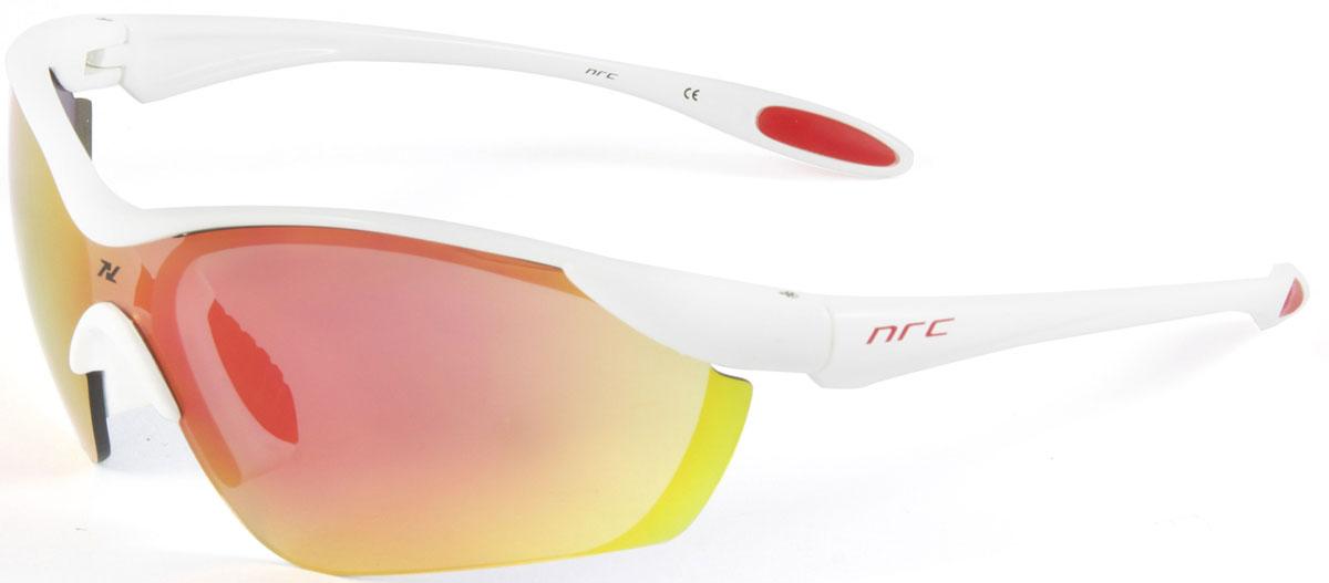 Очки солнцезащитные NRC, цвет: белый. 2103221032Бренд NRC представляет очки, предназначенные как для езды на велосипеде, так и для многих других видов спорта. NRC известен собственными фирменными разработками, адаптирующими очки под разные климатические условия, различное время суток, степень освещенности, а также под индивидуальные потребности каждого конкретного пользователя. Очки глянцевые белые Красные зеркальные линзы Материал оправы – Нейлон (TR90) Оправа - изогнутые и удобные Материал линзы - поликарбонат (РС) Особенности линзы - фотохромные Покрытие – защитное от царапин, антизапотевающее, зеркальное Прозрачность -12% Категория фильтра -3 Вес -22,2 г Кривизна (изгиб) -7