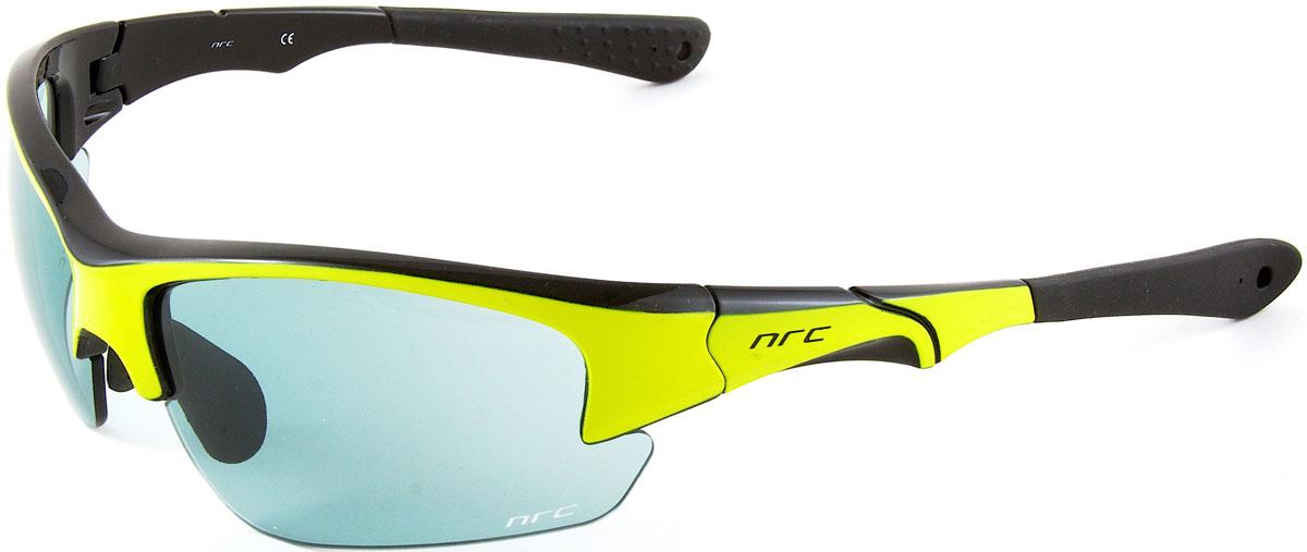 Очки солнцезащитные NRC, цвет: желый. 2103821038Бренд NRC представляет очки, предназначенные как для езды на велосипеде, так и для многих других видов спорта. NRC известен собственными фирменными разработками, адаптирующими очки под разные климатические условия, различное время суток, степень освещенности, а также под индивидуальные потребности каждого конкретного пользователя. Очки глянцевые черные с флуорисцентно-желтым Синие зеркальные линзы Материал оправы – Нейлон (TR90) Оправа - регулируемые носоупоры и дужки Материал линзы - поликарбонат (РС) Особенности линзы - фотохромные Покрытие – защитное от царапин, зеркальное Прозрачность -11% Категория фильтра -3 Вес -32,3 г Кривизна (изгиб) -8