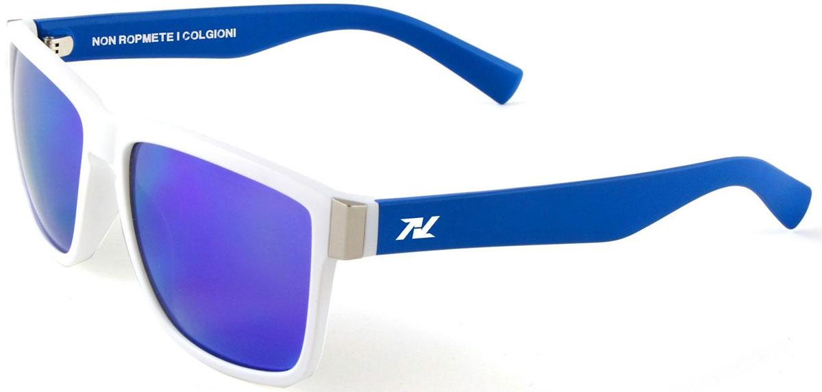 Очки солнцезащитные NRC, цвет: белый. 2105521055Бренд NRC представляет очки, предназначенные как для езды на велосипеде, так и для многих других видов спорта. NRC известен собственными фирменными разработками, адаптирующими очки под разные климатические условия, различное время суток, степень освещенности, а также под индивидуальные потребности каждого конкретного пользователя. Очки маловые бело-синие Синие зеркальные линзы Материал оправы – поликарбонат (РС) Оправа - городская модель, отлично смотрится в городе. Материал линзы - поликарбонат (РС) Покрытие –защитное от царапин[NOSCRATCH] Прозрачность -15% Категория фильтра - 3 Вес -30 г Кривизна (изгиб) - 6