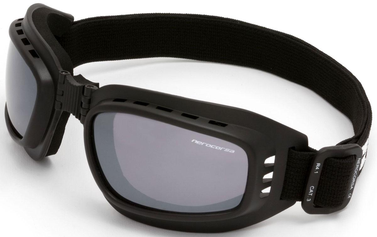 Очки солнцезащитные NRC, цвет: черный. 2105621056Бренд NRC представляет очки, предназначенные как для езды на велосипеде, так и для многих других видов спорта. NRC известен собственными фирменными разработками, адаптирующими очки под разные климатические условия, различное время суток, степень освещенности, а также под индивидуальные потребности каждого конкретного пользователя. Очки блестящие(глянцевые) черные Дымчатые линзы