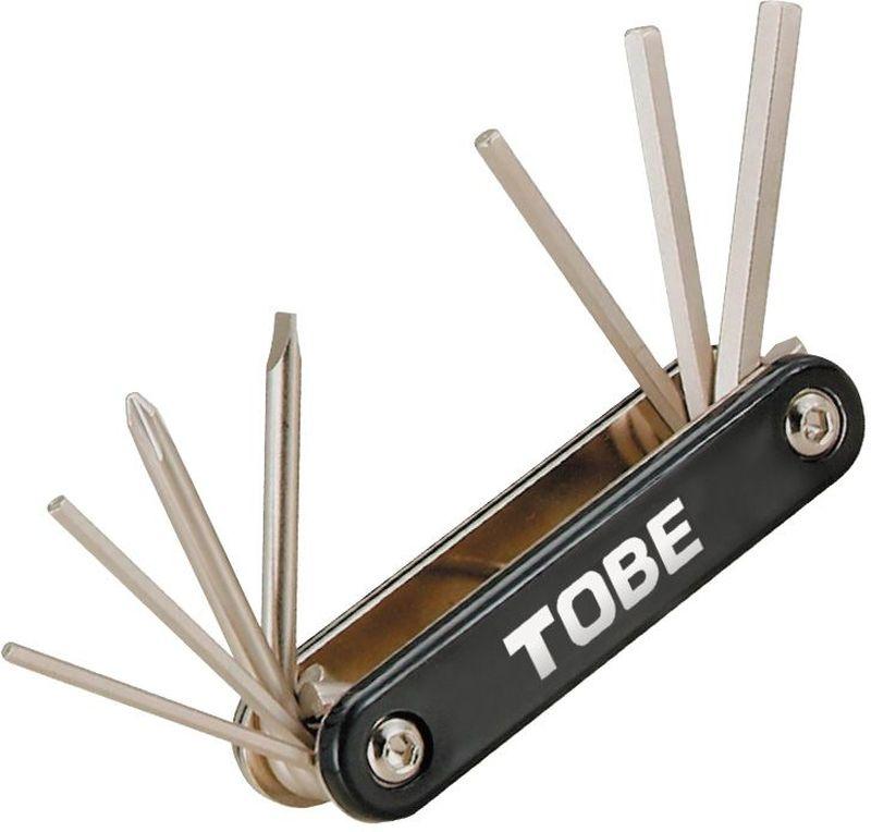 Складной инструмент To Be, 7 в 1. 21272127Складные инструменты B966000 Особенности: 6-гранный торцевые ключи 2.5/3/4/5/6 мм;Отвертка (+)/(-)