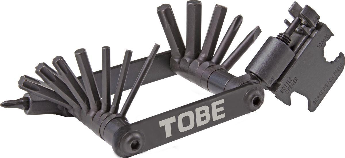 Складной инструмент To Be, 22 в 1. 21452145Складные инструменты B976075-SI Особенности: шестигранники 2/2.5/3/4/5/6/8мм , Т25/Т27/Т30/Т40, отвертки +1/+2/-3/-4,выжимка цепи,спицевые ключи 3.2мм/3.5мм/Mavic 5,65мм, пресс торможного поршня