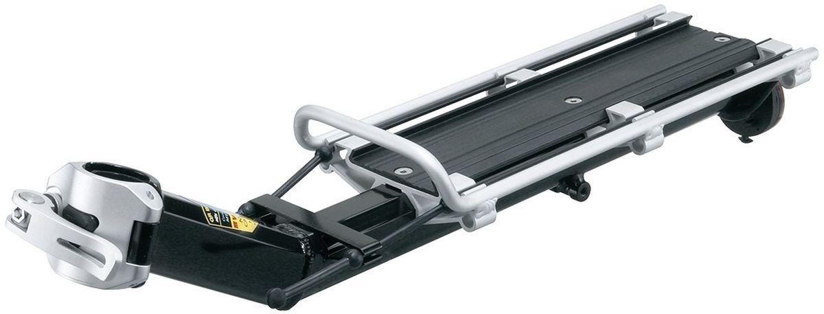 Багажник задний консольный TOPEAK MTX BeamRack (V type), для больших рамTA2096VДля MTB или для тяжелых поездок. QR-механизм безопасен и прост в использовании. Грузоподъемность 9 кг (20 фунтов). Совместим со всеми TrunkBags MTX. Включает в себя два резиновых ремешка и отражатель безопасности.