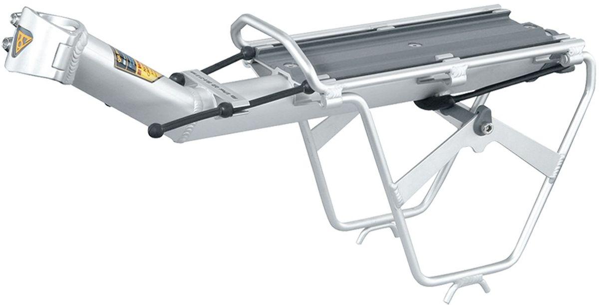 Багажник задний консольный TOPEAK RX BeamRack Cside Frame (V type), для средних и больших рамTA2401VЛегкий багажник на подседельную трубу с боковыми рамами. Для использования на дорожных и городских велосипедах. Совместимость со всеми багажными модулями RX, грузоподъемность 7 кг (15 фунтов).