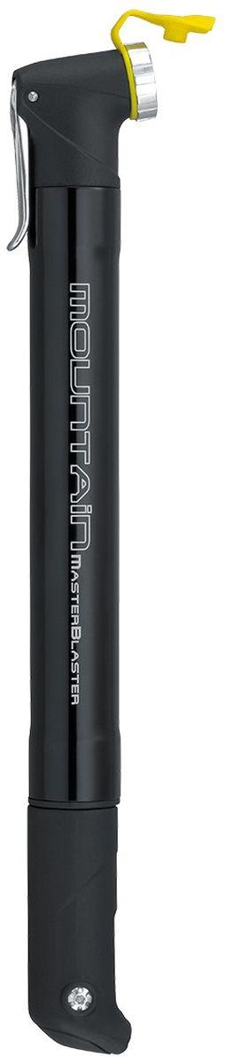 Насос велосипедный TOPEAK Mountain MasterBlaster, цвет: черныйTMTMB-1BНасос для маунтинбайка Topeak Mountain Master Blaster обладает лёгким весом и компактным размером, а Т-образная ручка обеспечивает отличное сцепление и комфорт при накачке. Особенности: - материал корпуса: фрезерованный алюминий; - удобная пластиковая Т-образная ручка; - совместим с ниппелями: Presta, Schrader, Dunlop; - крепление на раму. Максимальное давление: 90 PSI / 6 bar. Размер: 29,5 х 4,6 х 2,7 см. Вес: 120 г.