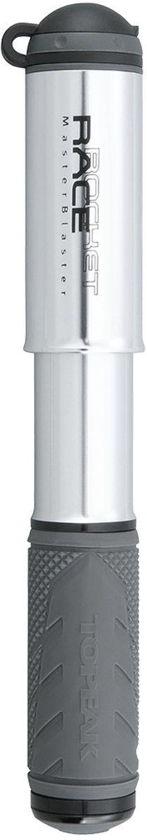 Насос велосипедный TOPEAK RaceRocket, цвет: серебристыйTRR-1SЭкстремально компактный и легкий насос для полевого обслуживания шоссейных и гибридных велосипедов. Выдвижной шланг (совместим с вело и авто ниппелями), фрезерованный алюминиевый корпус, интегрированный пыльник, максимальное давление 8 атмосфер. Компактный размер и низкий вес позволяют хранить насос не только на раме, но и в кармане веломайки или в подседельной сумке. Крепление: боковое, под флягодержателем. Размер: 18 x 3.6 x 2.5 см. Вес 85 г.