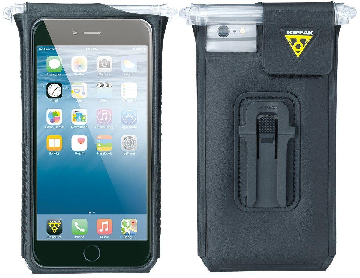 Чехол водонепроницаемый TOPEAK SmartPhone DryBag for iPhone 6 Plus, с креплением на руль, цвет: черныйTT9842BСпециальный чехол для популярного смартфона Apple iPhone 6/6S Plus с креплением на руль. Чехол Topeak SmartPhone DryBag полностью водонепроницаем. Есть возможность управлять кнопками включения и громкости. Возможность фотосъемки с камеры смартфона. Чехол будет полезен тем, кто ни на секунду не расстается с телефоном, особенно во время тренировок. Для смартфонов: iPhone 6S Plus, iPhone 6 Plus. Материал: пластик, силикон. Крепление: Руль или вынос руля. Дополнительно: крепление RideCase и крепление на чашку выноса F66. Размеры: 8.8 X 3 X 16.3 см.