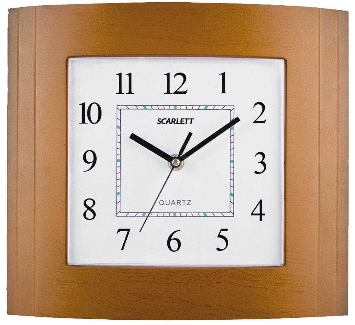 Scarlett SC-55QP часы настенныеSC-55QPНастенные часы, плавный ход