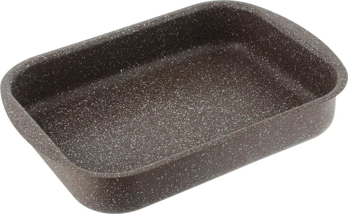 Форма для запекания Fissman Модерн, с антипригарным покрытием, 30 х 22 х 6 смAL-4997.30Форма для запекания Fissman изготовлена из качественного алюминия с антипригарным покрытием TouchStone. Не содержит в составе вредных веществ. Одним из главных преимуществ является система многослойного сверхпрочного антипригарного покрытия TouchStone, состоящего из нескольких слоев натуральной каменной крошки на основе минеральных компонентов. Такая форма найдет свое применение для выпечки большинства кулинарных шедевров. Форма равномерно и быстро прогревается, выпечка пропекается равномерно. Благодаря антипригарному покрытию, готовый продукт легко вынимается, а чистка формы не составит большого труда. Какое бы блюдо вы не приготовили, результат будет превосходным! Форма подходит для использования в духовке с максимальной температурой 240°С. Чтобы избежать повреждений антипригарного покрытия, не используйте металлические или острые кухонные принадлежности. Разрешена мойка в посудомоечной машине. Размер формы (по верхнему краю): 30...