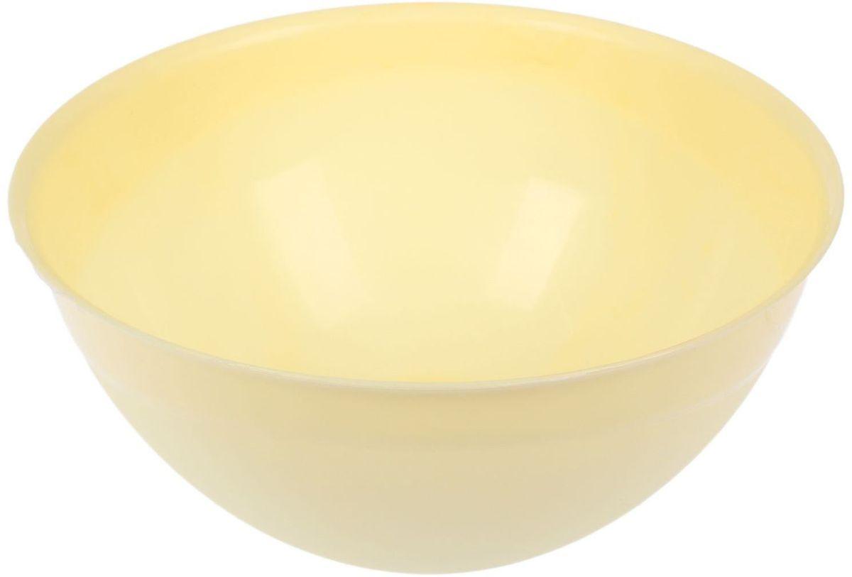 Миска Fimako, цвет: лимонный, 5 л2331336От качества посуды зависит не только вкус еды, но и здоровье человека. Любой хозяйке будет приятно держать его в руках. С посудой и кухонной утварью Fimako приготовление еды и сервировка стола превратятся в настоящий праздник.