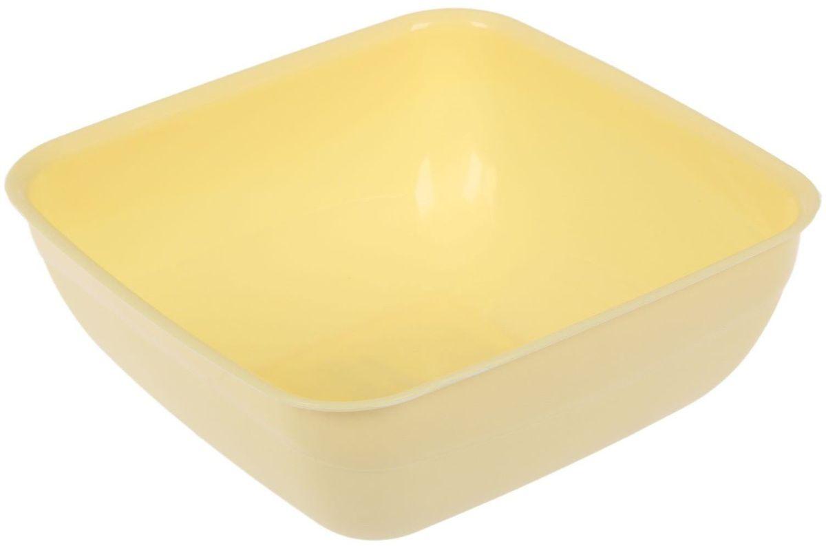 Салатник Fimako, цвет: лимонный, 1,25 л2331342От качества посуды зависит не только вкус еды, но и здоровье человека. Любой хозяйке будет приятно держать его в руках. С посудой и кухонной утварью Fimako приготовление еды и сервировка стола превратятся в настоящий праздник.