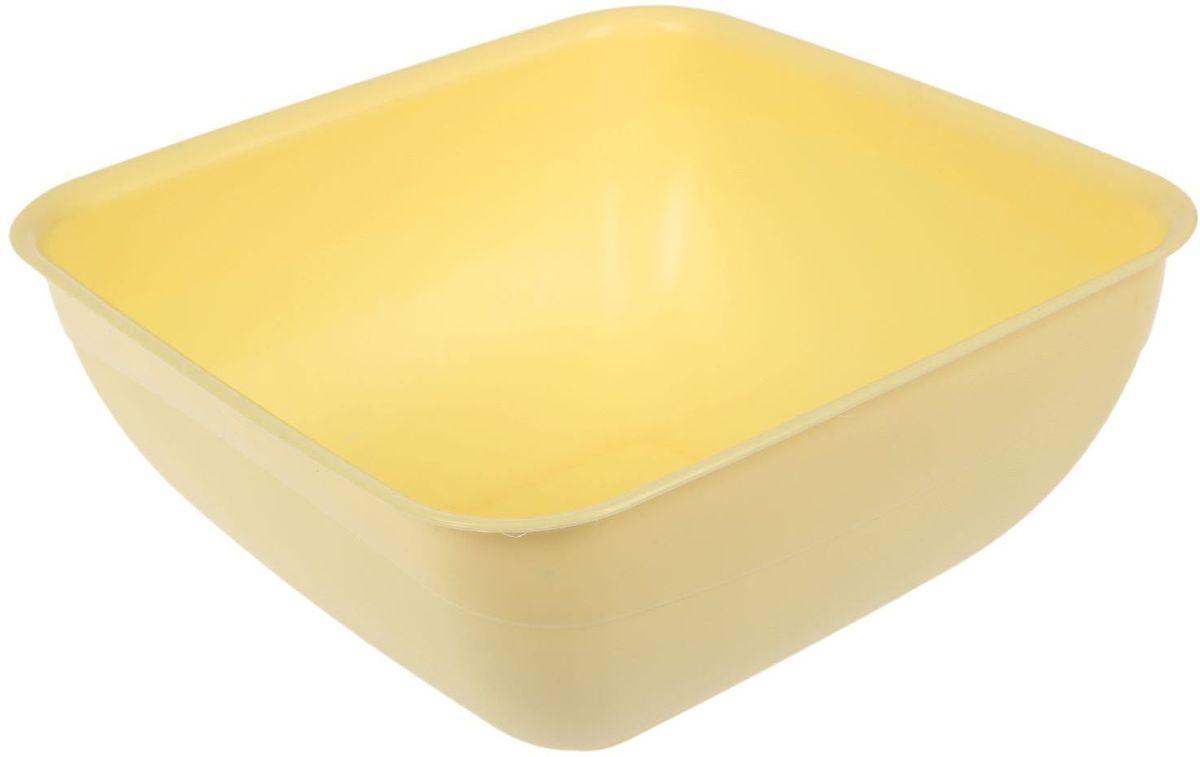 Салатник Fimako, цвет: лимонный, 5 л2331351От качества посуды зависит не только вкус еды, но и здоровье человека. Любой хозяйке будет приятно держать его в руках. С посудой и кухонной утварью Fimako приготовление еды и сервировка стола превратятся в настоящий праздник.