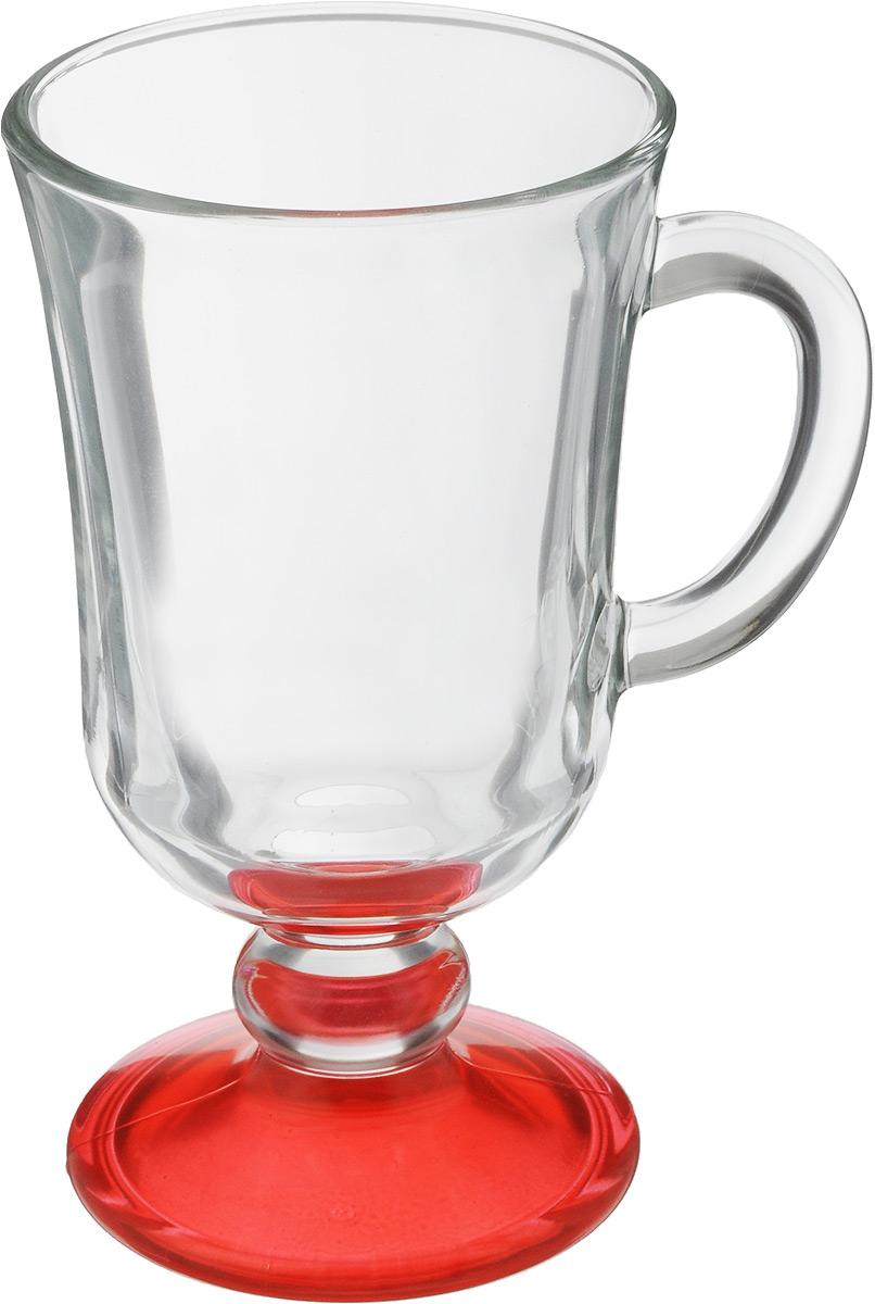 Кружка OSZ Глинтвейн, цвет: прозрачный, красный, 200 мл08C1405LMКружка OSZ Глинтвейн изготовлена из стекла двух цветов. Изделие идеально подходит для сервировки стола. Кружка не только украсит ваш кухонный стол, но и подчеркнет прекрасный вкус хозяйки. Диаметр кружки (по верхнему краю): 7,5 см. Высота ножки: 3,5 см. Высота кружки: 14 см. Объем кружки: 200 мл.