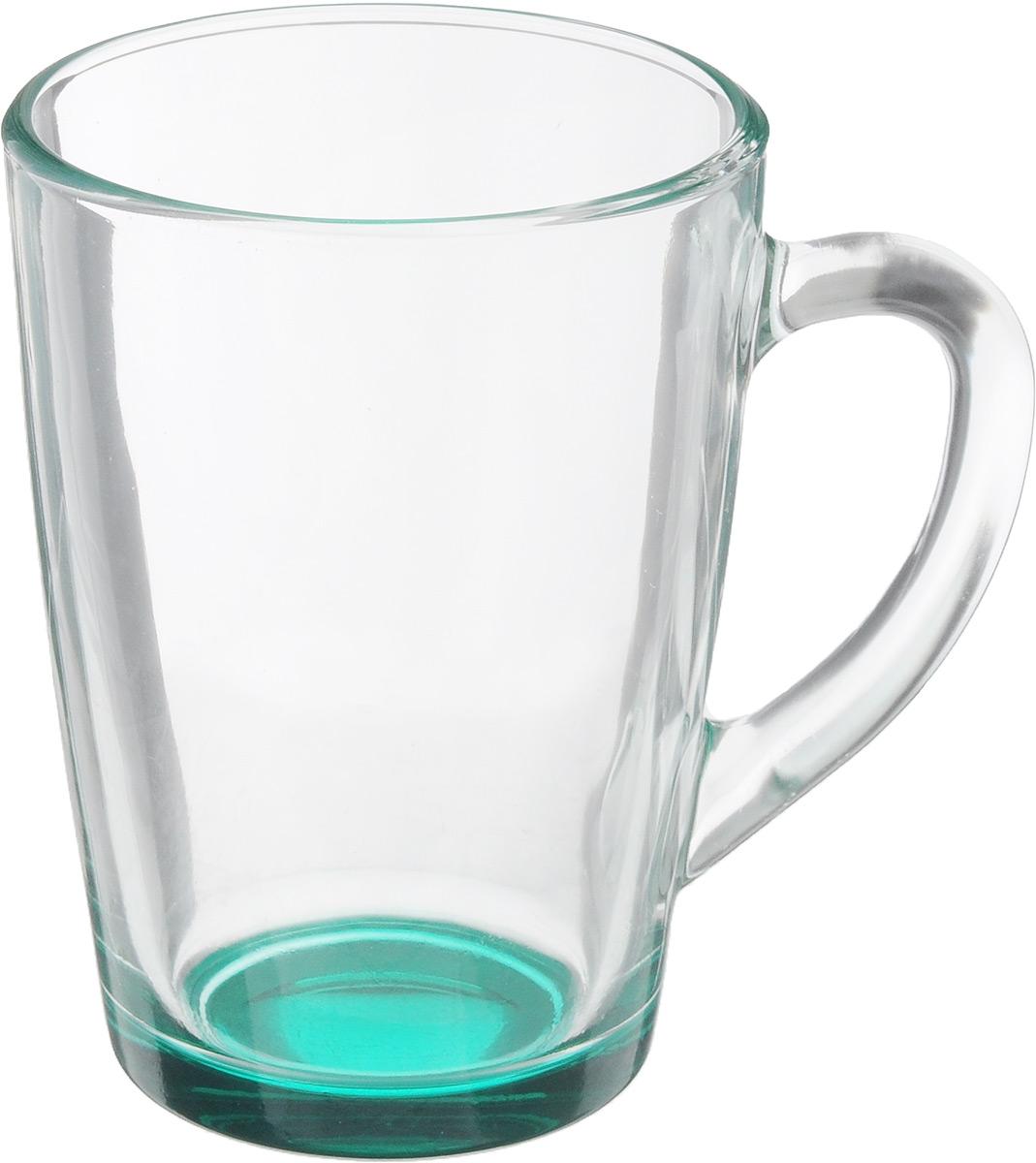 Кружка OSZ Капучино, цвет: прозрачный, зеленый, 300 мл. 07C1334LM07C1334LM_прозрачный, зеленыйКружка OSZ Капучино изготовлена из стекла двух цветов. Изделие идеально подходит для сервировки стола. Кружка не только украсит ваш кухонный стол, но и подчеркнет прекрасный вкус хозяйки. Диаметр кружки (по верхнему краю): 8 см. Высота кружки: 11 см. Объем кружки: 300 мл.