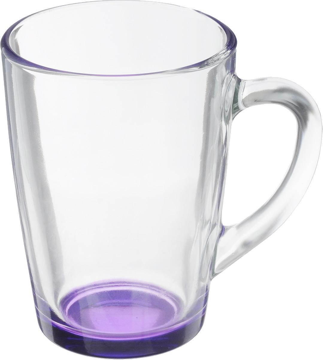 Кружка OSZ Капучино, цвет: прозрачный, фиолетовый, 300 мл. 07C1334LM07C1334LM_прозрачный, фиолетовыйКружка OSZ Капучино изготовлена из стекла двух цветов. Изделие идеально подходит для сервировки стола. Кружка не только украсит ваш кухонный стол, но и подчеркнет прекрасный вкус хозяйки. Диаметр кружки (по верхнему краю): 8 см. Высота кружки: 11 см. Объем кружки: 300 мл.