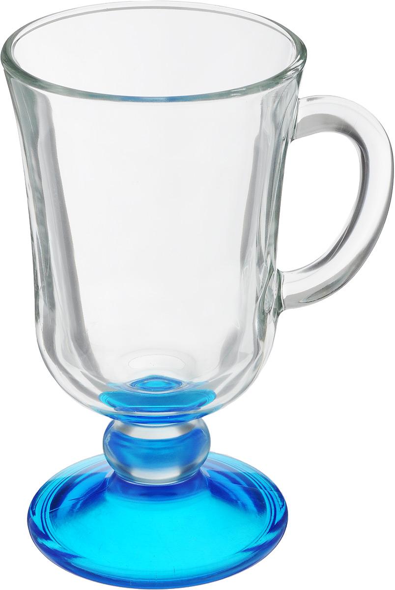 Кружка OSZ Глинтвейн, цвет: прозрачный, синий, 200 мл08C1405LM_прозрачный, синийКружка OSZ Глинтвейн изготовлена из стекла двух цветов. Изделие идеально подходит для сервировки стола. Кружка не только украсит ваш кухонный стол, но подчеркнет прекрасный вкус хозяйки. Диаметр кружки (по верхнему краю): 7,5 см. Высота ножки: 3,5 см. Высота кружки: 14 см. Объем кружки: 200 мл.