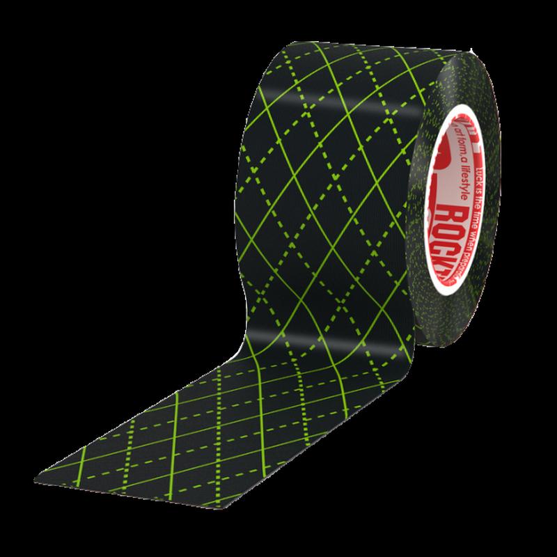 Кинезиотейп Rocktape Design. Черный узор, 5 см х 5 мRCT100-BKARG-OSМатериал: 97% хлопок, 3% нейлон 6/12 Стойкая гипоаллергенная клеевая основа Эластичность: 180-190% (!) Плотная волнообразная структура ткани Водостойкий Носится, не теряя свойств, до 5 дней Производство: США/Корея