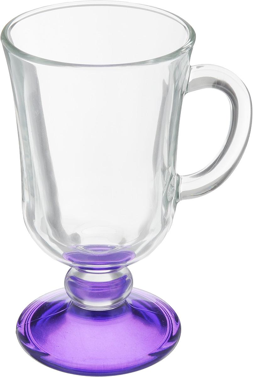 Кружка OSZ Глинтвейн, цвет: прозрачный, фиолетовый, 200 мл08C1405LM_прозрачный, фиолетовыйКружка OSZ Глинтвейн изготовлена из стекла двух цветов. Изделие идеально подходит для сервировки стола. Кружка не только украсит ваш кухонный стол, но и подчеркнет прекрасный вкус хозяйки. Диаметр кружки (по верхнему краю): 7,5 см. Высота ножки: 3,5 см. Высота кружки: 14 см. Объем кружки: 200 мл.