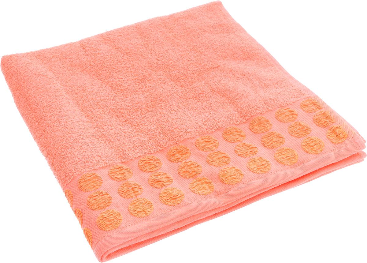 Полотенце Brielle Point, цвет: оранжевый, 70 х 140 см1208Полотенца Brielle приятно удивляют и дают возможность почувствовать себя творцом окружающего декора.