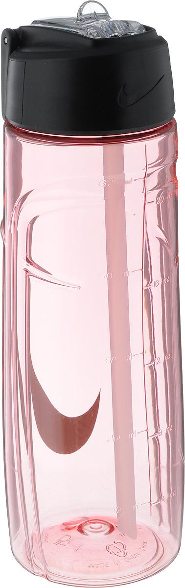 Бутылка для воды Nike T1 Flow Swoosh Water Bottle 24oz, цвет: розовый, серый, 709 млN.OB.92.606.24Бутылка для воды Nike T1 Flow Swoosh Water Bottle 24oz с горлышком, которое поднимается на 90 градусов, что обеспечивает простоту в использовании. Бутылка дополнена измерительной шкалой. Возможно мытье в посудомоечной машине, легко собирается и разбирается. Технология материала Tritan обеспечивает долговечность и ударопрочность. Объем: 709 мл. Высота: 23 см. Диаметр (по нижнему краю): 7 см.