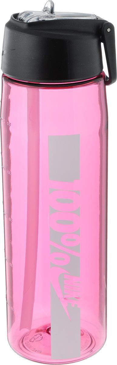 Бутылка для воды Nike Core Flow 100 Water Bottle 24oz, цвет: розовый, белый, 709 млN.OB.C0.639.24Бутылка для воды Nike Core Flow 100 Water Bottle 24oz с горлышком, которое поднимается на 90 градусов, что обеспечивает простоту в использовании. Модель дополнена измерительной шкалой. Возможно мытье в посудомоечной машине, легко собирается и разбирается. Технология материала Tritan обеспечивает долговечность и ударопрочность. Объем: 709 мл. Длина: 23 см. Диаметр (по нижнему краю): 7 см.