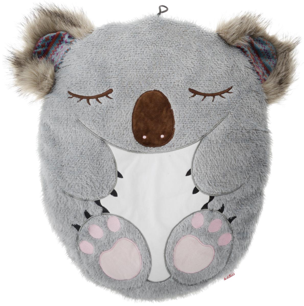 Лежак для собак GiGwi Коала, 53 х 45 х 6 см75314Мягкий лежак GiGwi Коала изготовлен из качественных материалов с отделкой из искусственного меха. Наполнителем служит мягкий синтепон. Такой материал не теряет своей формы долгое время. Оформлен лежак в виде коалы. За изделием легко ухаживать, его можно стирать вручную. Мягкий лежак станет излюбленным местом вашего питомца, подарит ему спокойный и комфортный сон, а также убережет вашу мебель от шерсти. Размер: 53 х 45 х 6 см.