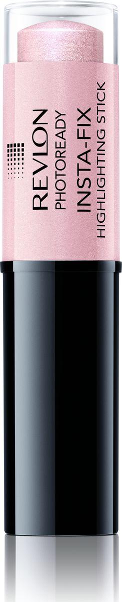 Revlon Хайлайтер-стик Photoready Insta Fix Starlit (pink light) 2007218777001Кремовый хайлайтер в формате стика. Это очень удобно, современно, а главное своевременно. С его помощью можно аккуратно и быстро создать здоровое, красивое сияние кожи. В состав формулы стика-хайлайтера входит инновационная технология фильтрации света, благодаря чему карандаш создает перламутровое мерцание, подчеркивающее сияние кожи. Наносите ли вы лишь немного хайлайтера на спинку носа, или создаете более выразительный стробирующий эффект, простой в применении карандаш делает процесс нанесения хайлайтера очень простым.