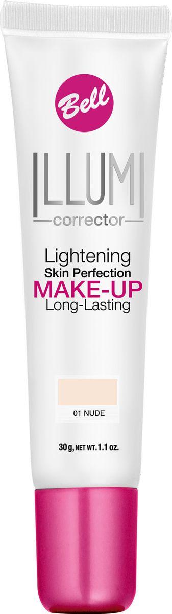 Bell Флюид Суперстойкий Корректирующий И Придающий Сияние Illumi Lightening Skin Perfection Make-up Тон 1BflLC001Флюид значительно улучшает состояние кожи лица, придавая здоровый вид и естественное сияние серой и усталой коже. Редуцирует покраснения, устраняет мелкие недостатки кожи, придает коже ровный тон. Содержит UVA и UVB фильтры, защищающие кожу от вредного действия солнечных лучей.