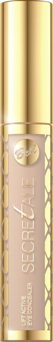 Bell Корректор Жидкий Осветляющий Secretale Lift Active Eye Concealer Тон 01BkoplS001Эффект разглаженных морщин сразу после применения! Корректор скрывает следы усталости и темные круги под глазами. Протеины пшеницы и экстракт из семян рожкового дерева создают Lift-Active Complex - формулу, предназначенную для подтяжки, разглаживания и осветления, благодаря которой кожа выглядит отдохнувшей и обновленной. Легкая, жидкая текстура корректора позволяет комфортно наносить косметику, не обременяя при этом глаз. Корректор прекрасно сочетается с цветом кожи и сохраняется в течение нескольких часов. Восстанавливает гладкость, подтягивает, а благодаря освещающим свойствам взгляд становится молодым и сияющим.
