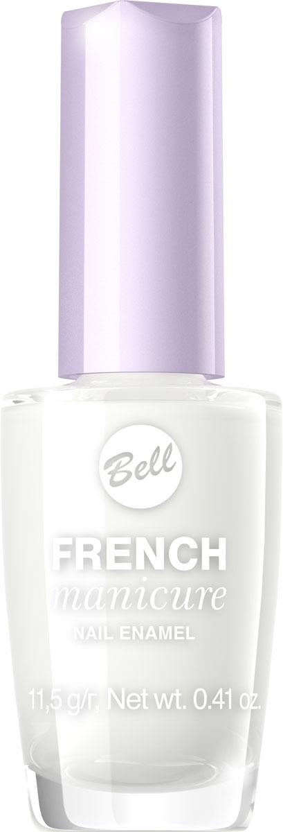Bell Лак Для Ногтей Устойчивый Гипоаллергенный French Manicure Nail Тон 1BlfrFR001Натуральный элегантный маникюр! French manicure от Bell - это наиболее простой и эффективный способ создания настоящего французского маникюра. Новейшая коллекция включает 12 деликатных оттенков: 6 из них обогащены серебристыми искорками, другие 5 придают ногтям матовый блеск.