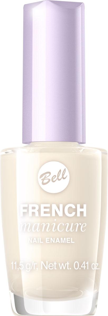 Bell Лак Для Ногтей Устойчивый Гипоаллергенный French Manicure Nail Тон 2BlfrFR002Натуральный элегантный маникюр! French manicure от Bell - это наиболее простой и эффективный способ создания настоящего французского маникюра. Новейшая коллекция включает 12 деликатных оттенков: 6 из них обогащены серебристыми искорками, другие 5 придают ногтям матовый блеск.