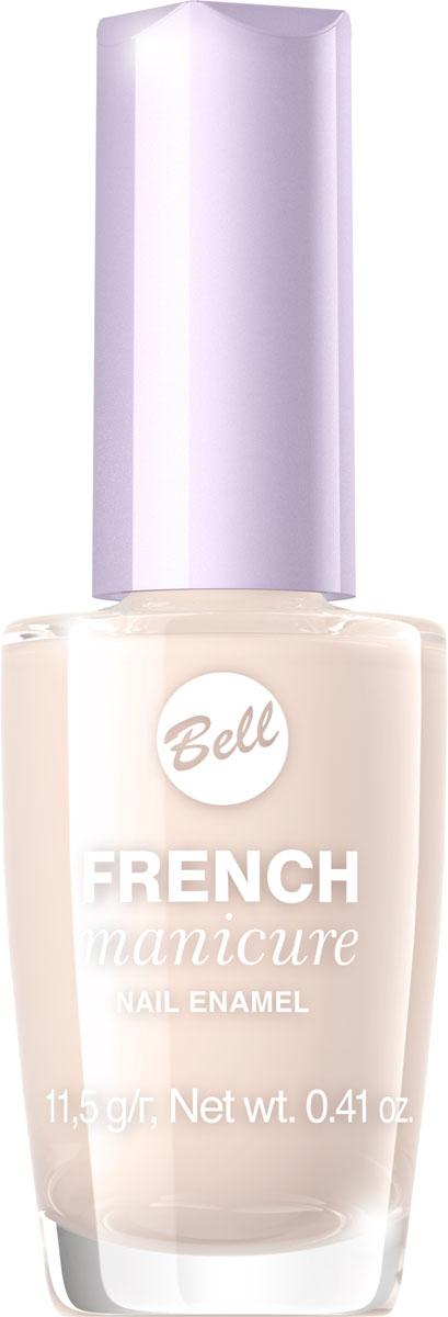 Bell Лак Для Ногтей Устойчивый Гипоаллергенный French Manicure Nail Тон 3BlfrFR003Натуральный элегантный маникюр! French manicure от Bell - это наиболее простой и эффективный способ создания настоящего французского маникюра. Новейшая коллекция включает 12 деликатных оттенков: 6 из них обогащены серебристыми искорками, другие 5 придают ногтям матовый блеск.