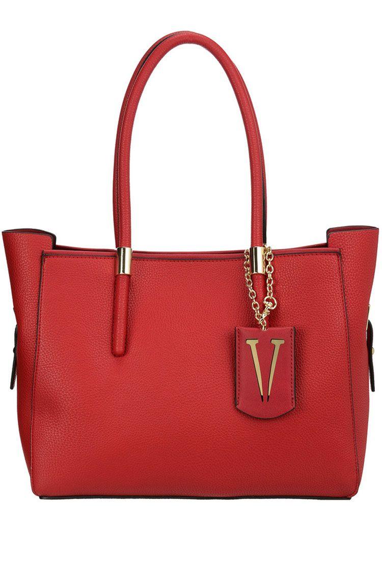 Сумка женская Vera Victoria Vito, цвет: красный. 32-615-332-615-3Универсальная сумка Vera Victoria Vito выполнена из экокожи без лишней отделки в стиле минимализма. Имеет лаконичный дизайн, строгую геометрическую форму и актуальный цвет. Модель застёгивается на магнитную кнопку. Внутри сумочка из эко-кожи на молнии, которая не отстёгивается от основного изделия, с карманом для паспорта и кармашками для мелочей. Аксессуар подойдёт для каждодневной носки на работу и деловых встреч.