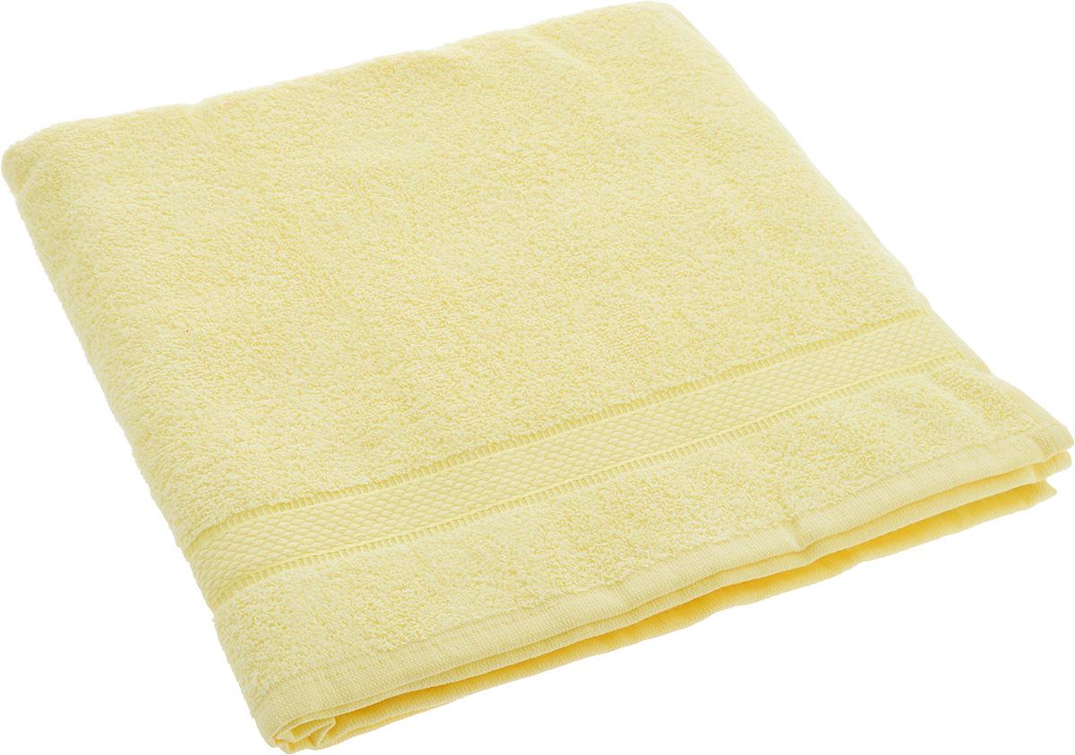 Полотенце Brielle Basic, цвет: желтый, 70 х 140 см1210Полотенце Brielle Basic выполнено из натурального хлопка. Изделие очень мягкое, оно отлично впитывает влагу, быстро сохнет, сохраняет яркость цвета и не теряет формы даже после многократных стирок. Полотенце Brielle Basic очень практично и неприхотливо в уходе. Такое полотенце послужит приятным подарком.
