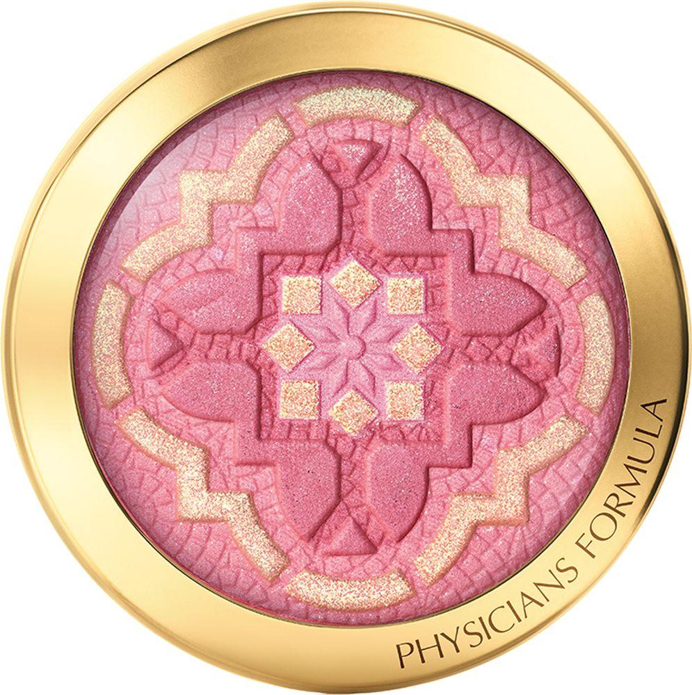 Physicians Formula Румяна с аргановым маслом Argan Wear Ultra-Nourishing Argan Oil Blush тон розовый 7 г6442EПогрузитесь в сказочную атмосферу Марокко! Пусть румяна с роскошным восточным рисунком, волнующим ароматом и богатым ухаживающим составом подарят вам макияж, достойный королевы! Румяна созданы на основе формулы с чистым аргановым маслом, которое делает цвет лица более свежим, сияющим и здоровым. Мягкая кремовая текстура легко и комфортно ощущается на коже, сохраняя свою стойкость в течение дня. Розовый и золотой оттенки идеально смешиваются и создают многогранный румянец на скулах, эффектный как днем, так и вечером. Наносите средство с помощью удобной широкой кисти, которую вы найдете в комплекте с румянами. Румяна можно использовать на веках, в качестве теней, а также в сочетании с прозрачным блеском на губах.