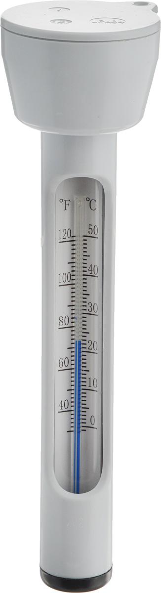 Термометр для бассейна Intex. с29039с29039Термометр Intex позволяет определить температуру воды в бассейне и в ванной-спа, обеспечивающую комфортное плавание. Изделие выполнено из ударопрочного пластика. Плавает на поверхности воды, что бы вы могли видеть температуру воды в любом месте бассейна. Имеет отверстие в верхней части для фиксирующего шнурка.